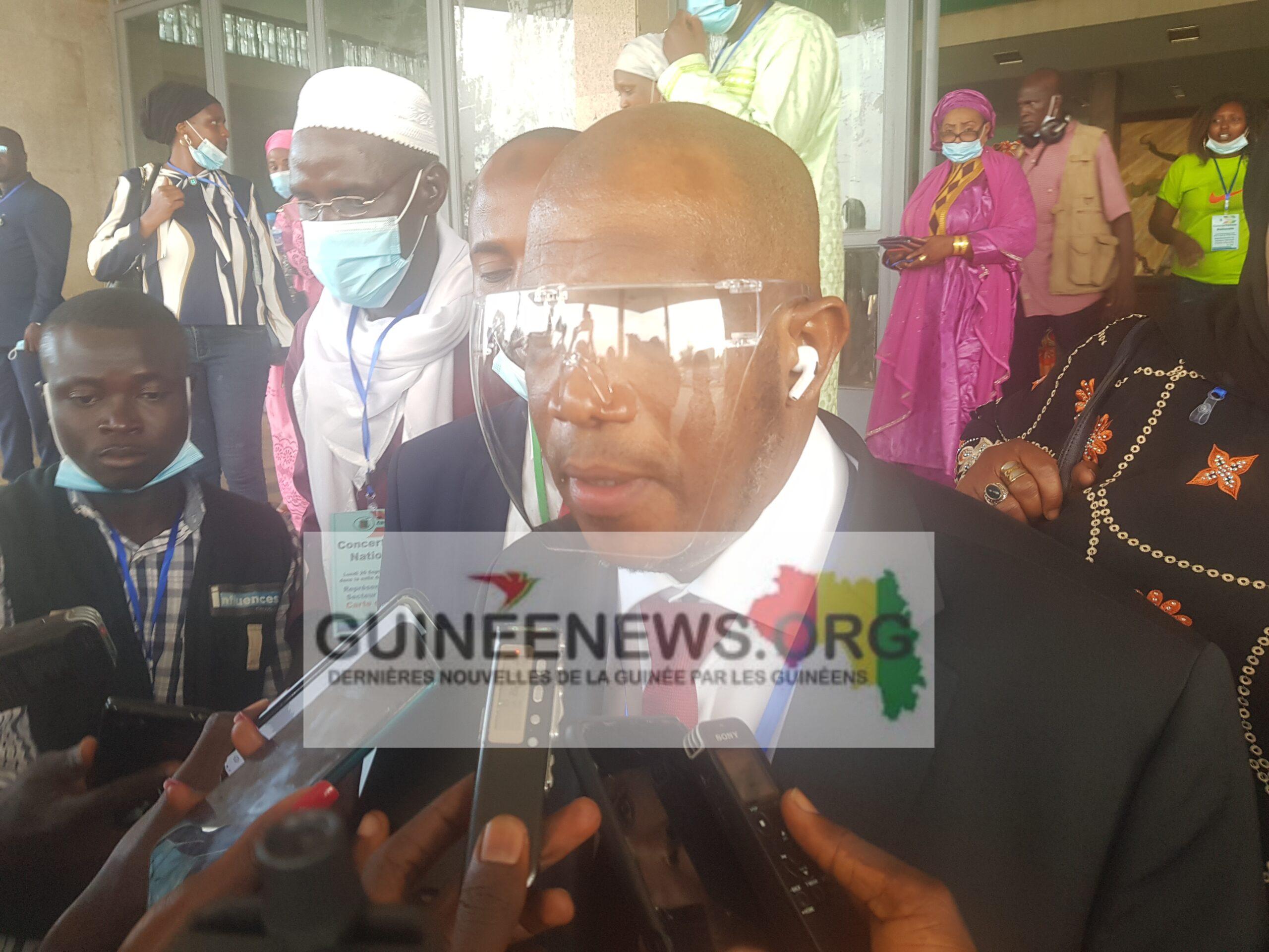 Consultations entre le CNRD et les forces vives de la nation : » Nous sommes très heureux…» , dixit Saliou Sonoco